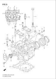 2005 suzuki ltz400 quadsport cylinder head parts best oem