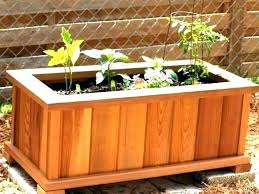 deck garden box diy es