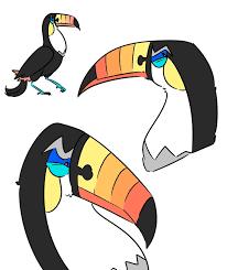 Toucannon Evolution Chart Toucannon Doodles By Owlcreme On Deviantart Pokemon