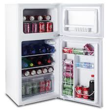 tiny refrigerator office. Office Mini Fridge Compact Refrigerator Dorm Freezer Small Home White Door New Tiny