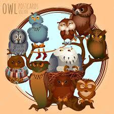 Картинки по запросу картинки анимация рисунок красивой совы мудрости