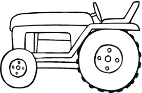 Tractor Coloring Page Free Tractor Coloring Pages Farm Tractor