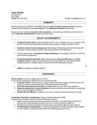 Free Download Sample Automotive Service Advisor Resume Example Www