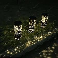 Zonne Energie Led Onder Grond Licht Tuin Yard Gazon Pad Decoratie