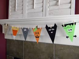 diy halloween decorations home. Diy Halloween Home Decor Great Garlands And Banners For Perfect Hall On Decorating Decorations