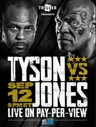 Бокс. Тайсон показал постер к своему бою с Джонсом (ФОТО) - Sport.ru