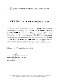 Sample Of Certificate Completion For Ojt 12 Bahamas Schools