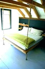 hanging bed round outdoor frame