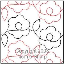 Daisies Pantograph | Norma Sharp | Digitized Quilting Designs & Digital Quilting Design Daisies Pantograph by Norma Sharp. Adamdwight.com