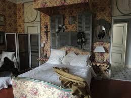 old louvre shutter bed head