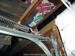 how to install a garage door torsion spring installing garage door springs replace single torsion spring