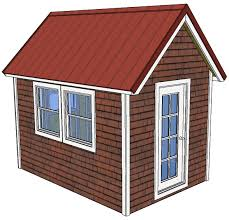 this set of free tiny house plans is a classic 8 x 12 house with a 12 12 pitched roof the plans are 20 pages and are drawn to the same level of