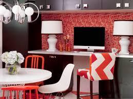 photos hgtv black gloss rectangle home office