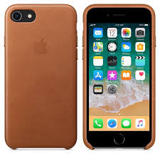 apple apple leather case for iphone 8 7 plus saddle brown cayman mac t a alphasoft