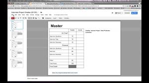 Rubric Template Microsoft Word Creating A Rubric Template Using Google Presentations Part 1