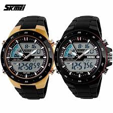 skmei 1016 mens dual time display led black rubber strap watch skmei 1016 men s dual time display led black rubber strap watch