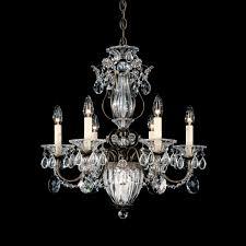 traditional chandelier swarovski crystal incandescent bale