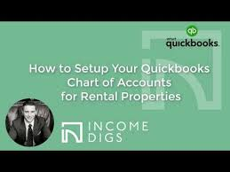 How To Setup Your Quickbooks Chart Of Accounts For Rental