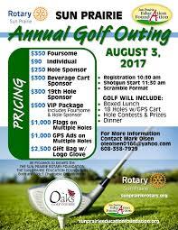 Sun Prairie Golf Outing Rotary Club Of Sun Prairie