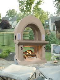 diy outdoor gas fireplace kits designs
