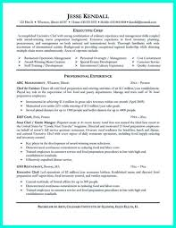 Prep Cook Resume Sample Executive Chef Resume Resume For Study 63