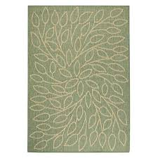 persimmon green natural 6 ft x 9 ft area rug