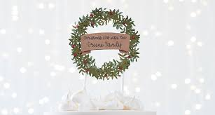 Cricut How To Make A Personalised Wreath Cake Topper Hobbycraft Blog