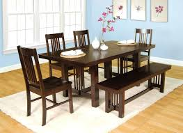 black dining room table with bench dining room chair oak dining table and chairs black living