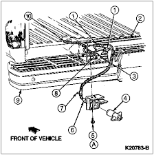trailer brake wiring ford bronco forum 3 to 14086 wiring assembly 4 12964 adapter kit stowed in vehicle for customer installation 5 n806820 s55 tapping screw