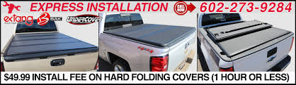 Hard Folding Tonneau Bed Covers For Pickup Trucks In Phoenix, Arizona