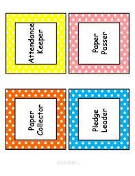 Classroom Chore Chart Classroom Job Chart Cards With Headers Descriptions Editable Template