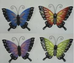 You have searched for butterfly outdoor wall decor and this page displays the closest product matches we have for butterfly outdoor wall decor to buy online. Enchanted Garden 10 Metal Butterfly Outdoor Wall Art Assorted Styles At Menards