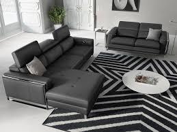 Eckgarnitur Sofa Mit Relaxfunktion In Leder Sofanella