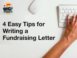4 Easy Tips For Writing A Strong Fundraising Letter | Big ...