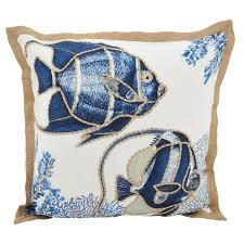down filled throw pillows. Fine Down Shop Go Fish Down Filled Throw Pillow  On Sale Free Shipping Today  Overstockcom 20585453 For Pillows F