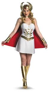 masters of the universe she ra costume polyester large