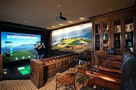 home cinema wall art orange county addition over garage home theater mediterranean with full swing golf simulator down sofas carved wood home cinema wall  on golf wall art uk with home cinema wall art orange county addition over garage home theater
