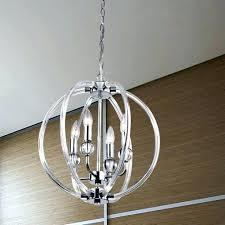chrome orb chandelier chandeliers photo 3 of 9 benita