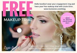 free makeup trial by lizzie oren hurry limited slots only