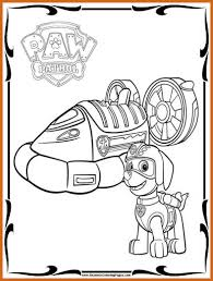 Paw Patrol Coloring Pages For Kids At Getdrawingscom Free For