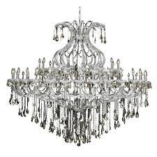 elegant lighting maria theresa 49 light elements crystal chandelier