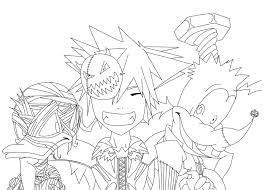 Small Picture Kingdom Hearts Halloween Lineart by efeitostark on DeviantArt