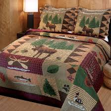 greenland home moose lodge quilt set full queen ca home kitchen