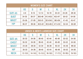 44 Credible White Coat Size Chart Women