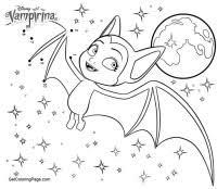 Coloring Vampirina Vampirina Coloring Pages Batty