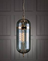 industrial contemporary lighting. The Aston Lantern With Smoked Glass, Ceiling Pendant Light, Industrial Retro Lighting Contemporary M