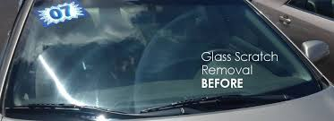 glass scratch repair and removal