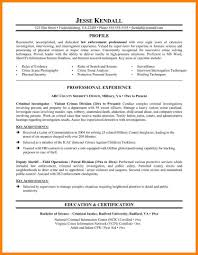 Resume Law Enforcement Curriculum Vitae Sample Template Download
