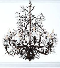 crystal and iron chandelier hand crafted wrought iron chandelier with crystal drops wrought iron crystal chandeliers