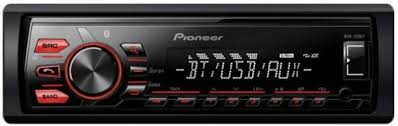 pioneer bluetooth car stereo. pioneer mvh-289bt fm/usb single din bluetooth car stereo